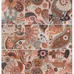 DECOR PRINT BEIGE MIX