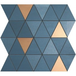MEK BLUE MOSAICO DIAMOND GOLD WALL