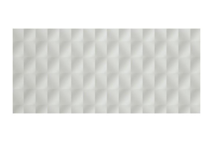 3D MESH WHITE MATT