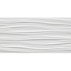 3D RIBBON WHITE MATT